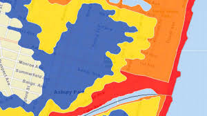 Map Nj Monmouth County U0027s Coastal Evacuation Map Is First Of Its Kind In