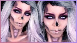 The 15 Best Sugar Skull Makeup Looks For Halloween Halloween by Easy Skull Makeup Tutorial Halloween Skull Makeup Tutorial Youtube
