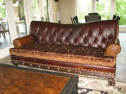 Chesterfield Sofa Leather by Decor Colorado Tufted Leather Sofa With Futuristic Style For