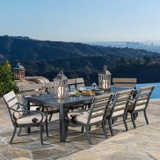 Wholesale Patio Dining Sets by Beaumont 7 Piece Sling Dining Set