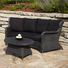 Black Wicker Patio Furniture Sets - 3 ways to treat resin wicker furniture tomichbros com