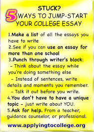 College Essays College Application Essays How To Write College How