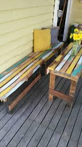 Pallets Patio Furniture - pallet outdoor set patio furniture