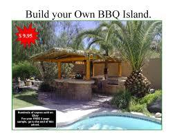 Design Your Own Outdoor Kitchen Diy Bbq Island Plans How To Build A Bbq Island Build An Outdoor