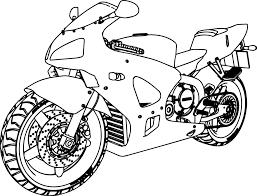 honda bike coloring page wecoloringpage