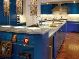 Glass Shelves Kitchen Cabinets Kitchen Modern Cottage Blue Kitchen Cabinets And Decorations
