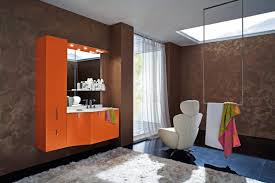 bathroom ideas orange crafts home