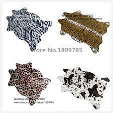 Cow Print Rugs Online Get Cheap Animal Print Rugs Aliexpress Com Alibaba Group