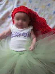 clearance infant halloween costumes diy ariel costume little mermaid infant or child no sew tutu
