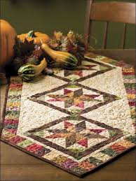 Quilted Table Runners by Turkey Table Runner From Quilting Quickly Magazine Kitchen