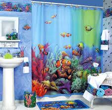 Tropical Themed Bathroom Ideas Themes To Apply Bathroom Decorating Ideas For Kids Home Fish