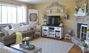 Farm Style Living Room by The Transformation Of Our Fixer Upper