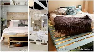 Recycle Home Decor Ideas Top 62 Recycled Pallet Bed Frames Diy Pallet Collection