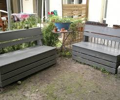 Plans To Build A Storage Bench by Excellent U0026 Easy Garden Storage Bench 16 Steps With Pictures