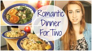 Dinners Ideas For Two Romantic Dinner For Two Risotto And Fried Goat Cheese Salad