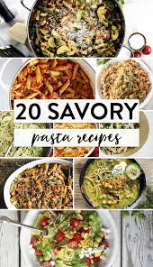 Pasta Recipes 20 Savory Pasta Recipes Best Of The Web The Bewitchin U0027 Kitchen