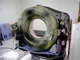 A CT scanner with covers off at full speed for   minute  Courtesy of radRounds Radiology Network  crazy RPS Pinterest