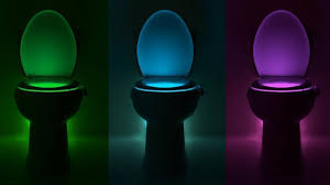 Mood Lighting Bathroom by Amazon Com Body Sensing Automatic Led Motion Sensor Toilet