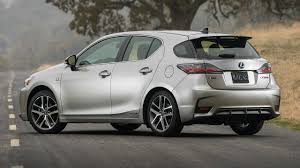 lexus hatchback used 2017 lexus ct 200h f sport drive and interior youtube