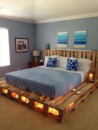 Diy Platform Bed Frame Designs by 42 Diy Recycled Pallet Bed Frame Designs