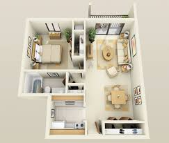 One  Bedroom ApartmentHouse Plans Architecture  Design - Apartment house plans designs