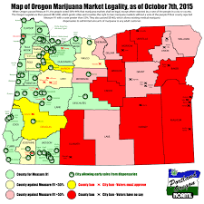 Oregon State Fair Map by Oregon Map Of Legal Marijuana Shops And Local Bans Portland Norml