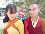 ブータン:9月のブータンは、稲刈りの時期