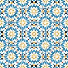 seamless pattern in moroccan style stock vector art 610441434 istock