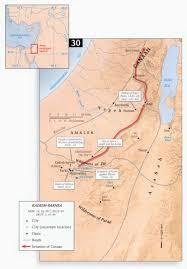 Exodus Route Map by Bible Maps Precept Austin