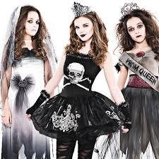 Girls Zombie Halloween Costumes Zombie Girls Age 12 16 Fancy Dress Halloween Teen Kids Childs