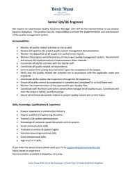 Best Resume Format For Quality Assurance by Exchange Administrator Cover Letter