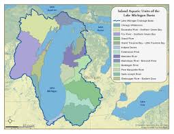 North Shore Chicago Map by Lake Michigan Basin Inland Aquatic Ecosystems Integrated