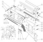 Product Schematics for Beeman R11 MKII Air Rifle - PyramydAir. pyramydair.com