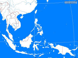 Southeast Map Southeast Asia Outline Map A Learning Family
