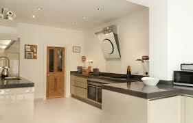 Handleless Kitchen Cabinets Cubanite Metallic Grey Handleless Kitchen With 80mm Quartz