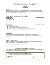 Nanny Resume Sample Templates by Resume Examples For First Job 87 Amusing Resume Outline Examples