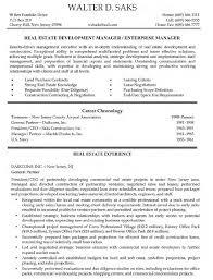 Real Estate Resume  real estate resumes  real estate resume