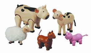 Plan Set Plan Toys U003cbr U003efarm Animal Set