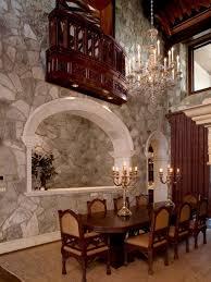 gothic dining room interior home design ideas