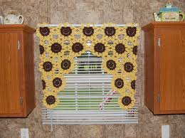 sunflower curtains for kitchen trends and pictures trooque