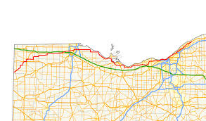 Toledo Ohio Zip Code Map by Ohio State Route 2 Wikipedia
