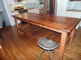 hand crafted reclaimed wood farmhouse kitchen island by wonderland