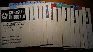 chrysler outboard 9 9 hp parts catalog manual 68 69 70 71 72 73 78