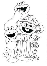 free printable sesame street coloring pages for kids within sesame