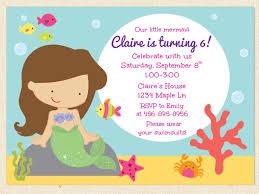 Birthday Invitation Cards Models Mermaid Birthday Party Invitations Redwolfblog Com