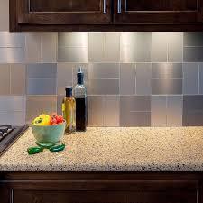 Metal Kitchen Backsplash Tiles Aspect Backsplashes Countertops U0026 Backsplashes The Home Depot