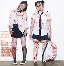 Girls Zombie Halloween Costumes Bloody Zombies Halloween Costumes