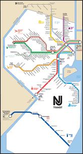 Map Nj Nj Transit Map Tres Important Travel Sources Pinterest