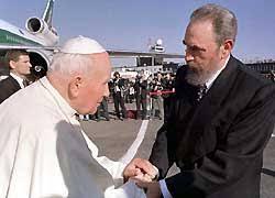 Giovanni Paolo II a cuba