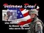 Thank you to all Veterans Veterans day – On The Right